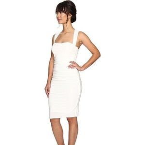 Laundry shelli argali white halter dress midi